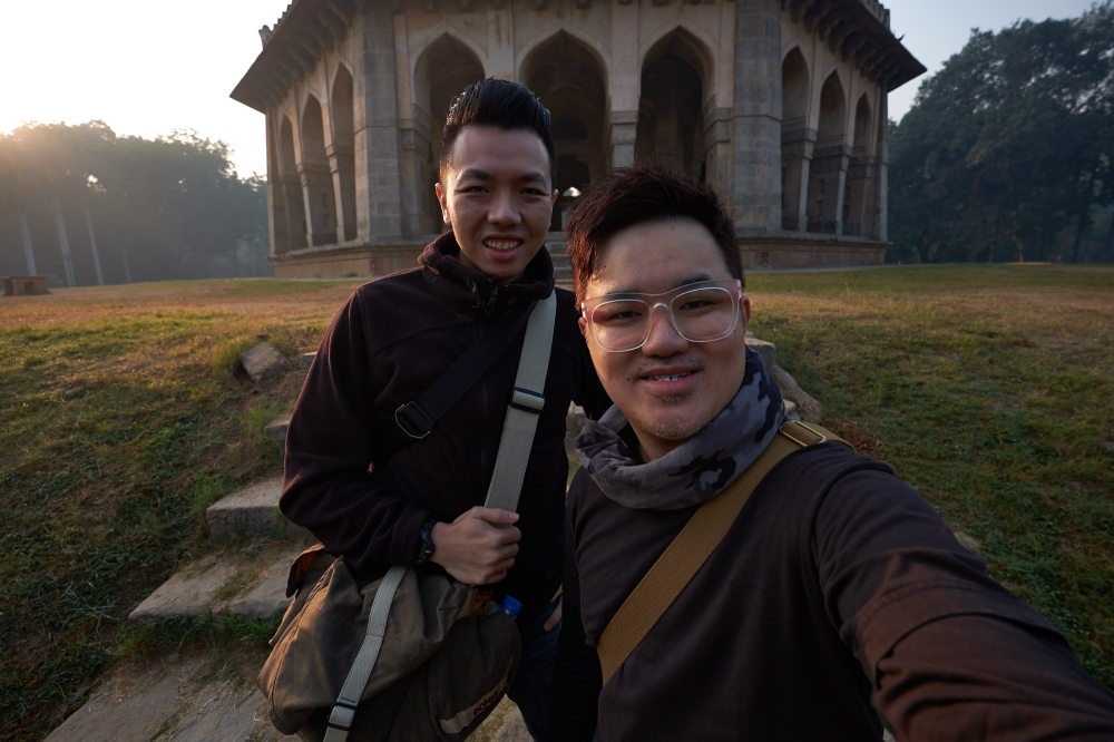 Wefie + Face detection XF 10-24mm, F4, 1/350, ISO 200, EV-1.6