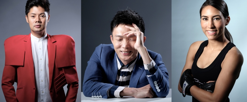 Left to Right, Danny Yeo, Casey Chen and Kirstie Gannaway.