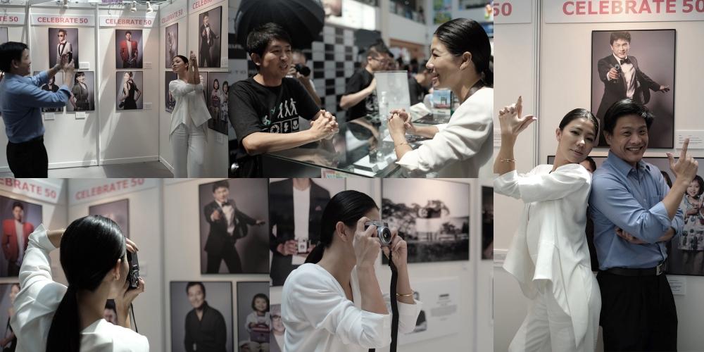 Dr Leslie Tay with Fujifilm X-camera Ambassador; Belinda Lee.