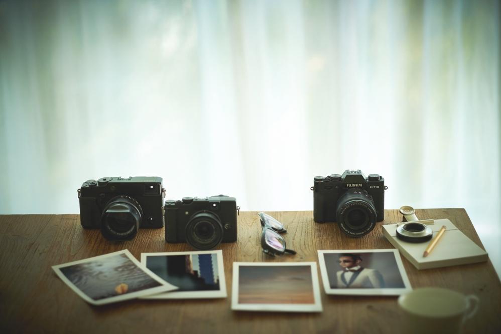 Fujifilm X-series.