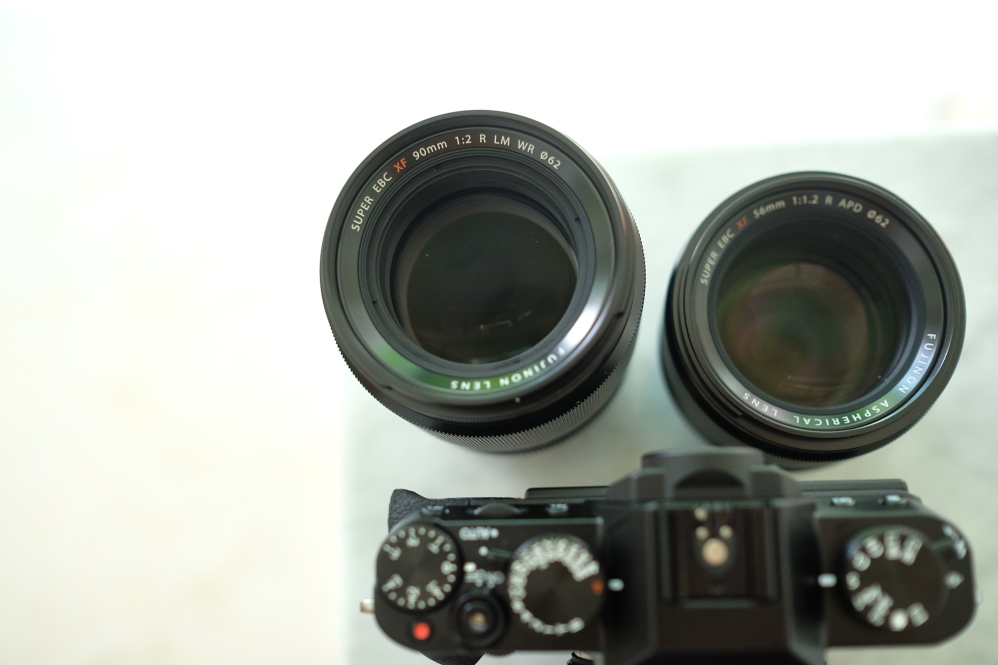 XF56mm F1.2 and XF90mm F2 WR + XT-10