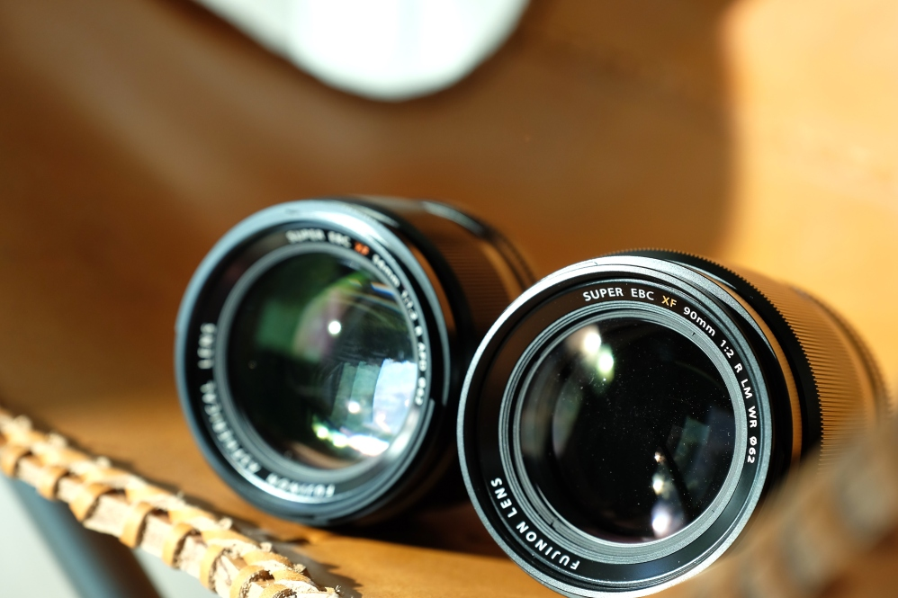 XF56mm F1.2 and XF90mm F2 WR
