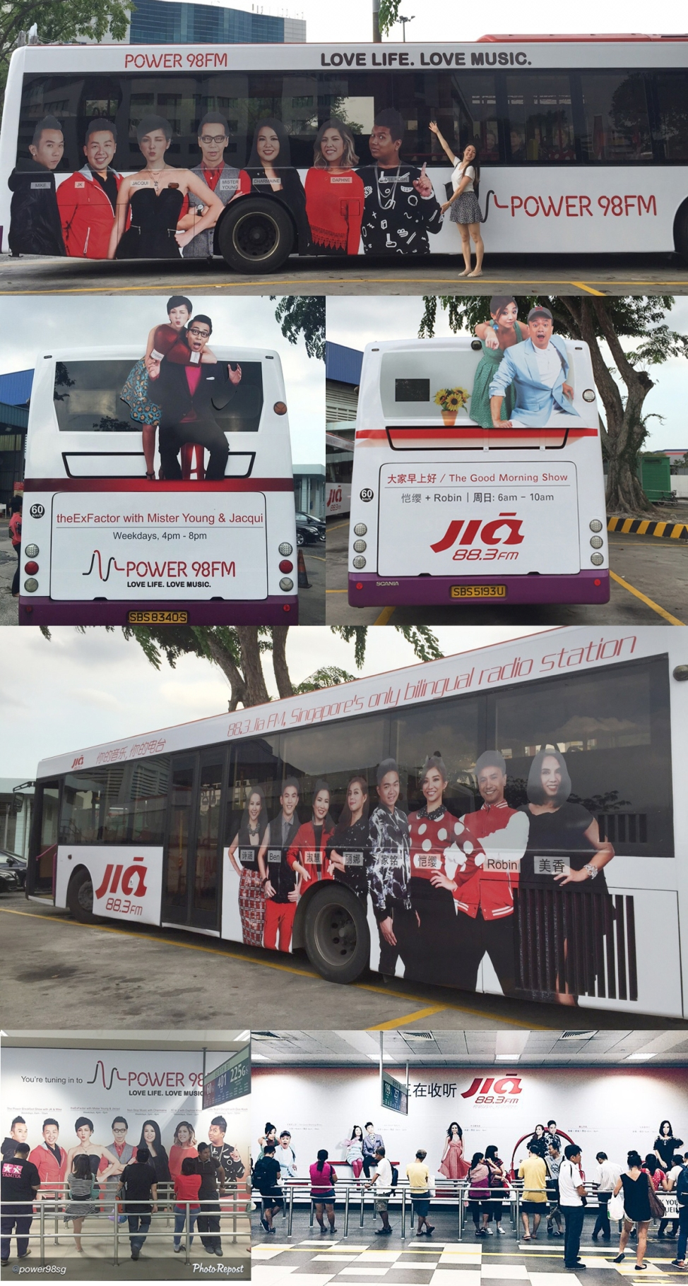 Bus Ads and Billboards. Fujifilm X-Trans Rocks!