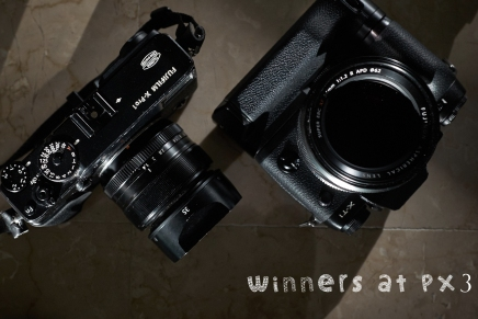 Awards with FUJIFILM X-T1