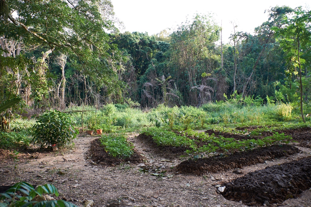 A small farm along the way