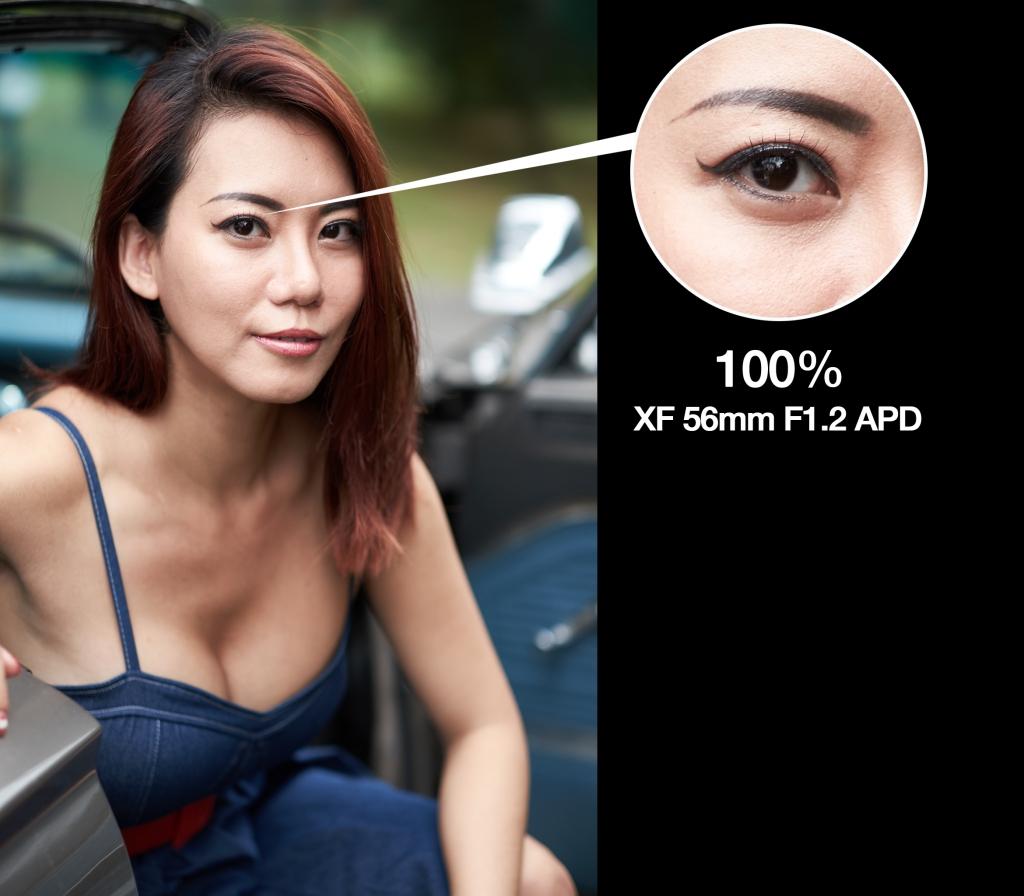 X-T1 + XF 56mm APD
