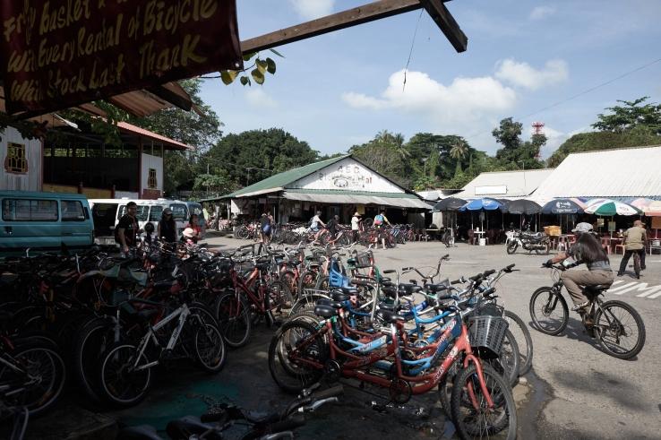 Palau Ubin town centre.