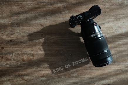 King of Zooms. XF100-400mm
