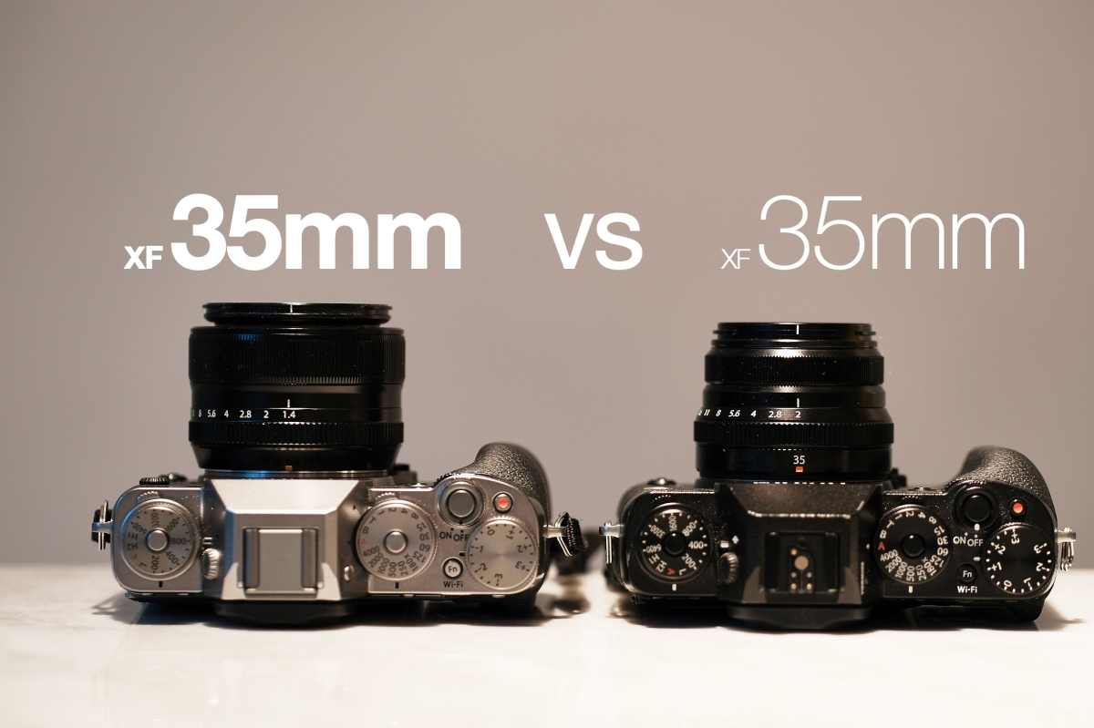 35mm vs 35mm