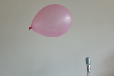 Portrait of a Pink Balloon.