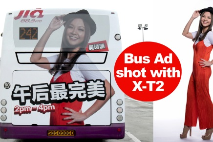 Bus Ads with X-T2