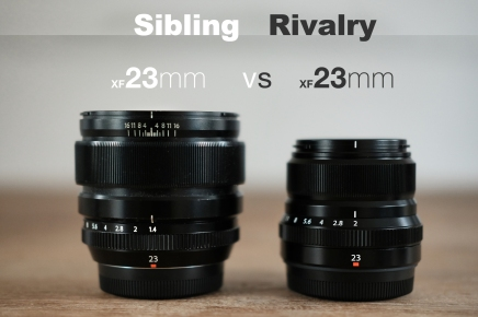 23mm vs 23mm. Sibling Rivalry.