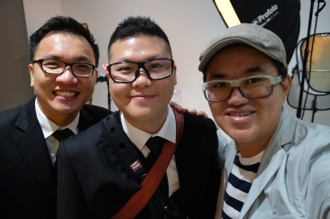 Selfie with my Fujiguys from Singapore.
