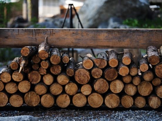 Firewood. GFX + GF110mm.