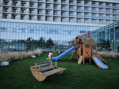 Play ground. Nest Hotel. GFX + GF23mm