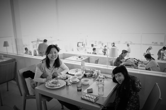 Last brekky with Mama dearest before heading home. X100F
