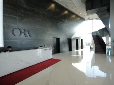 Lobby. Ora Hotel. GFX + GF23mm