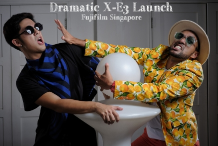 Dramatic X-E3 Launch. SG Style.