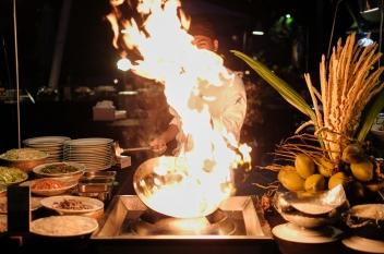 BBQ night....