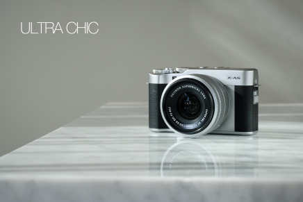 New XC15-45mm +X-A5