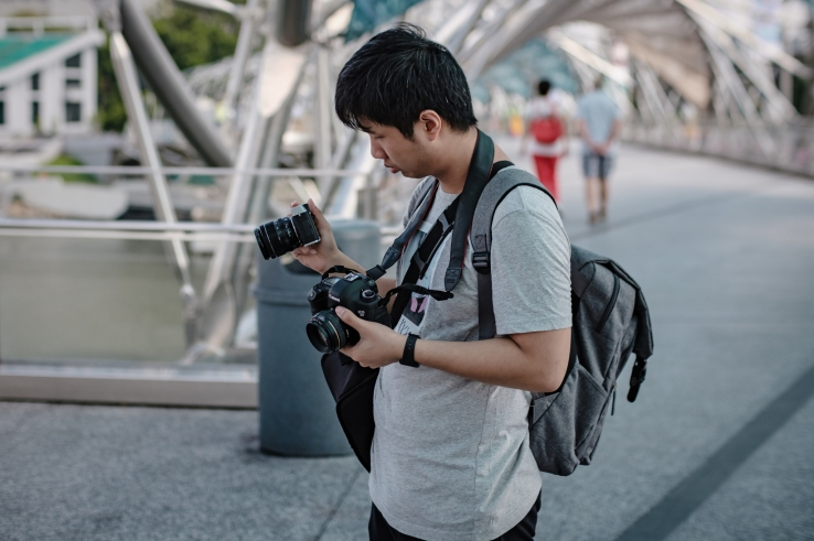 I guess its time to let go of my DSLR. Photo by Jere