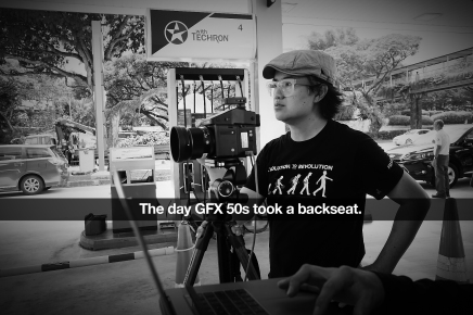 The day GFX 50s took a backseat.
