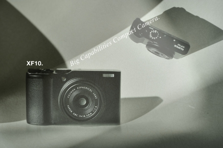 XF10. Big Capabilities Compact Camera.