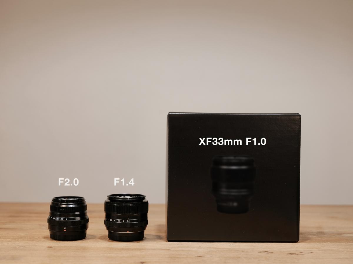 XF33mm F1.0