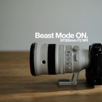 Beast Mode ON. XF200mm F2 WR (NSFW)