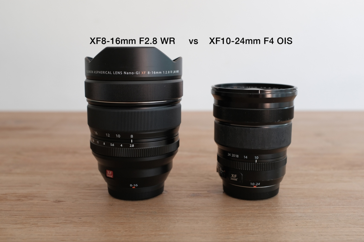 Clash of the XF Wide Angle Lenses