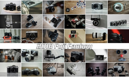 Twenty Eighteen. Fuji Fanboy's report.