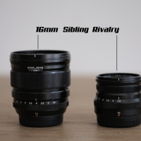 Sibling Rivalry  XF16mm F2.8 WR vs XF16mm F1.4.