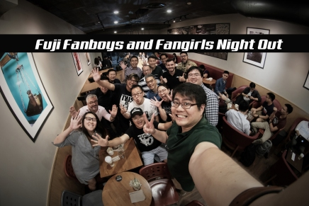 Fuji Fanboys and Fangirls 2nd Night Out Session.