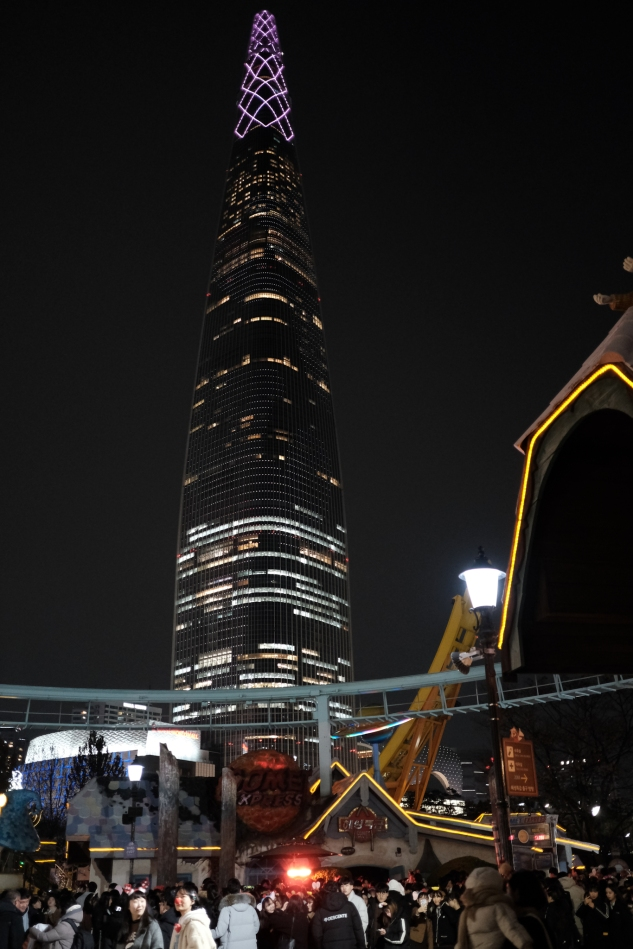 Lotte Tower. XF23mm F2