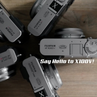 Say Hello to X100V.