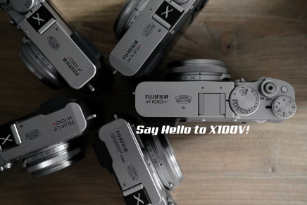 Say Hello toX100V.