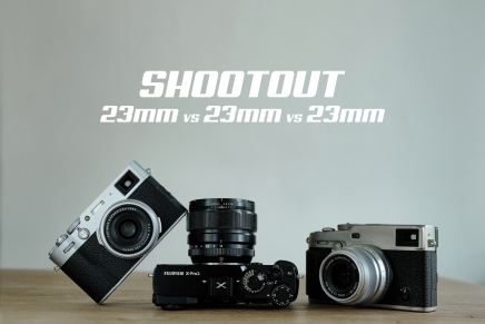 23mm vs 23mm vs 23mm Shootout