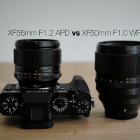 XF50mm F1.0 WR vs XF56mm F1.2 APD
