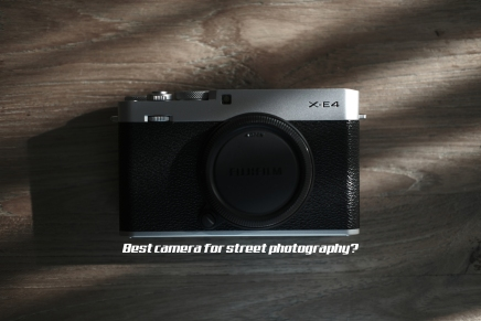 X-E4. Fujifilm's Best Street Camera?