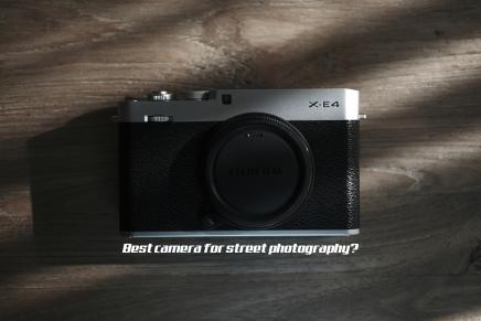 X-E4. Fujifilm's Best StreetCamera?