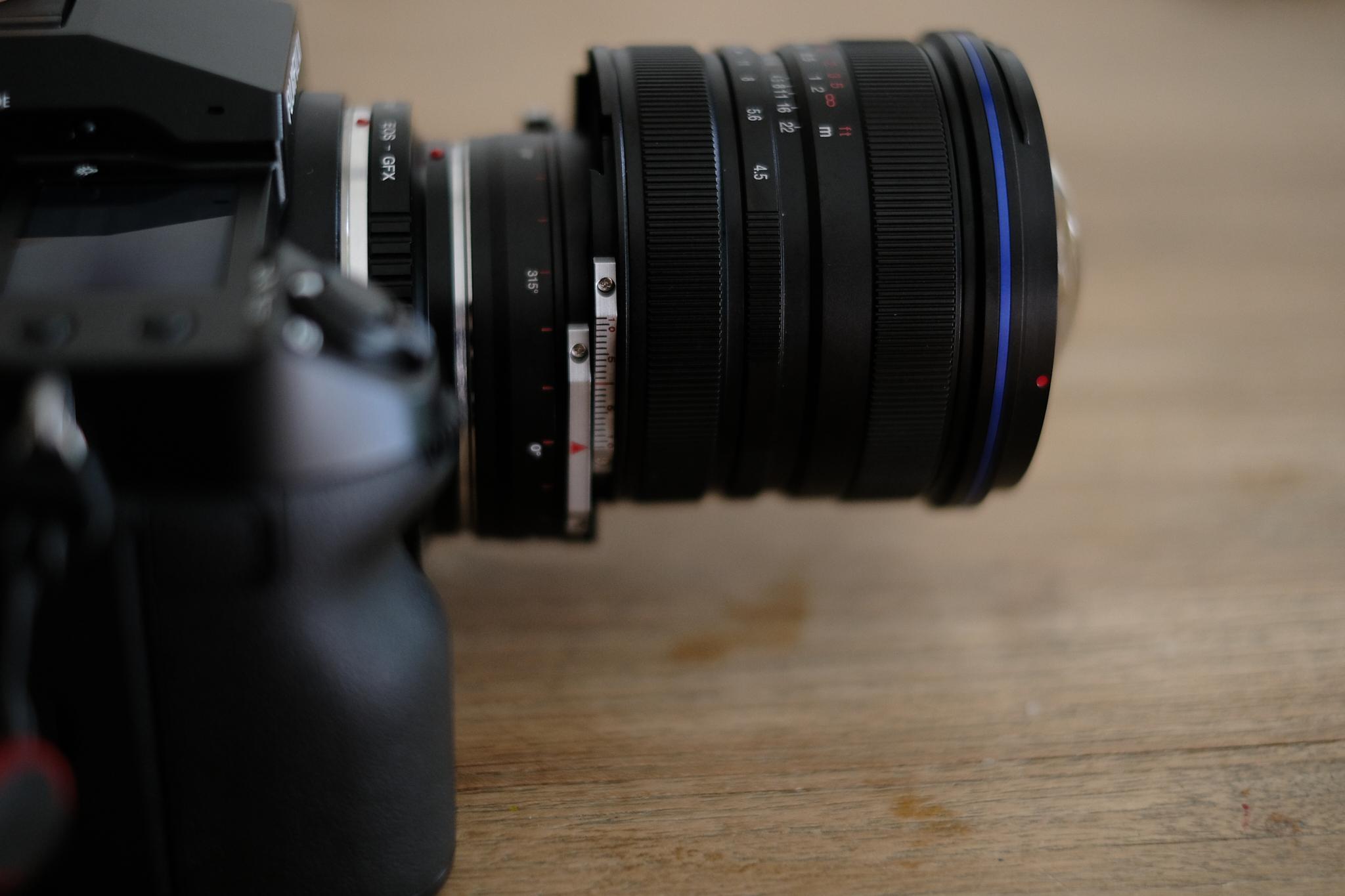 Shift Happens! GFX100S with Laowa 15mm Shift lens
