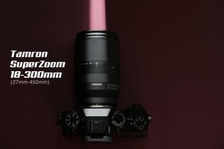 Super Zoom. Tamron18-300mm.